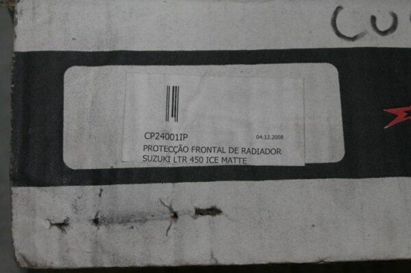 PEGA TRASEIRA C/PLACA DE NÚMERO P/YFZ 450 CROSS PRO